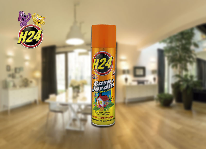 Industrias h24 for Casa jardin insecticida